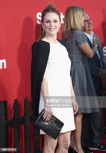 Julianne Moore at the Premiere of Paramount Pictures' 'Suburbicon' at Regency Village Theatre on October 22 2017 in Westwood California