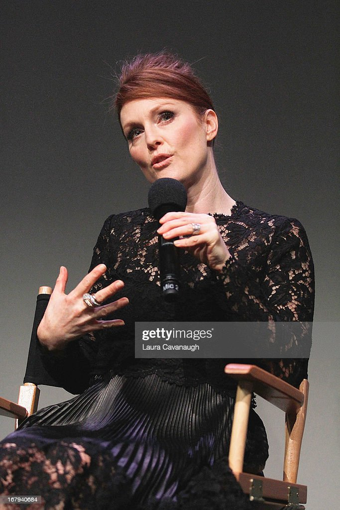 Julianne Moore attends Apple Store Soho Presents Meet The App Developer: Julianne Moore at Apple Store Soho on May 2, 2013 in New York City.