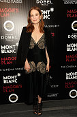 Julianne Moore attends Montblanc And The Cinema Society With Mastro Dobel Kim Crawford Wines Hos