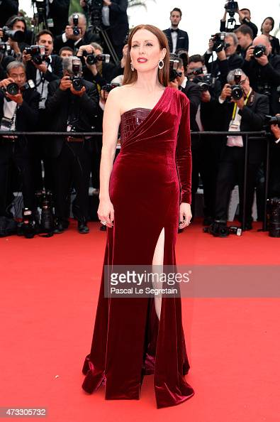 Julianne Moore attends Premiere of 'Mad Max Fury Road' during the 68th annual Cannes Film Festival on May 14 2015 in Cannes France