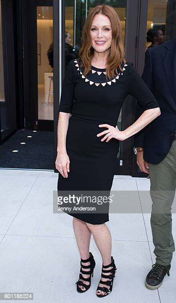 Julianne Moore attends Saks Downtown Ribbon Cutting at Saks Downtown on September 9 2016 in New York City
