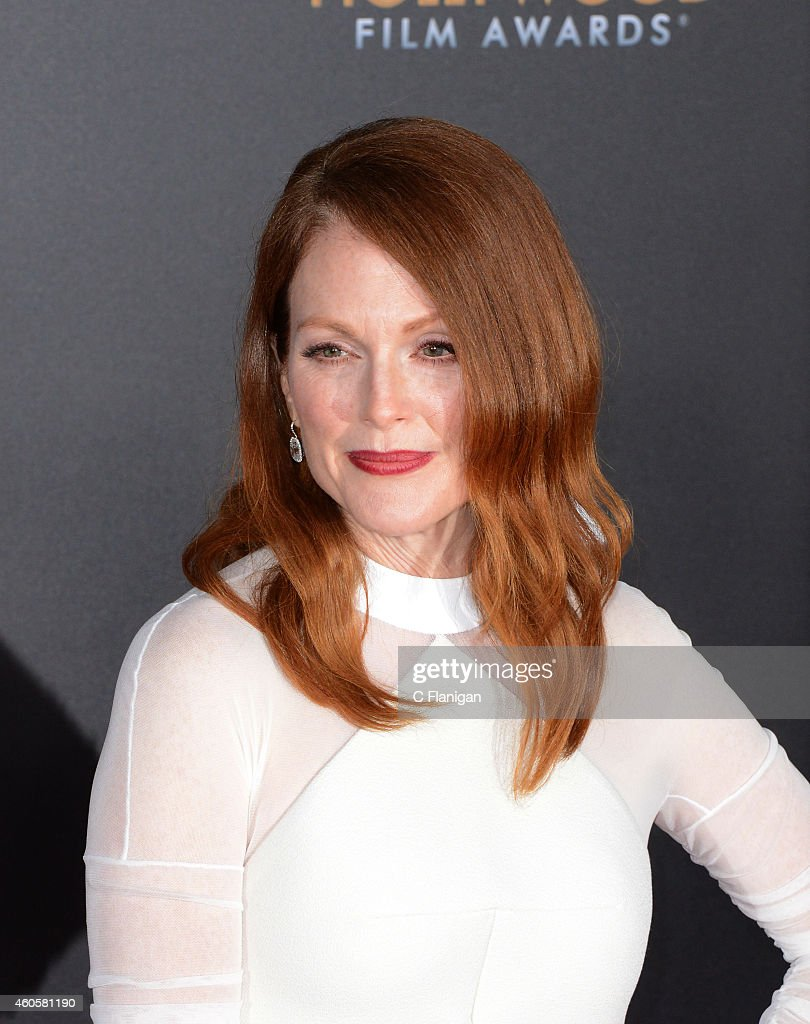 Julianne Moore attends the 18th Annual Hollywood Film Awards at The Palladium on November 14, 2014 in Hollywood, California.