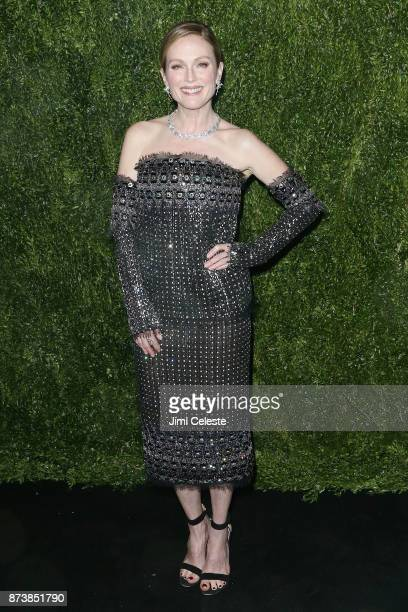 Julianne Moore attends the 2017 Museum of Modern Art Film Benefit Tribute To Julianne Moore at Museum of Modern Art on November 13 2017 in New York...