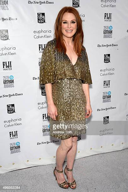 Julianne Moore attends the 25th annual Gotham Independent Film Awards at Cipriani Wall Street on November 30 2015 in New York City