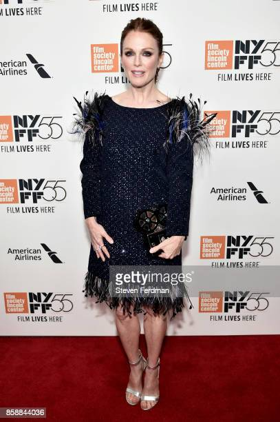 Julianne Moore attends the 55th New York Film Festival 'Wonderstruck' premiere at Alice Tully Hall on October 7 2017 in New York City