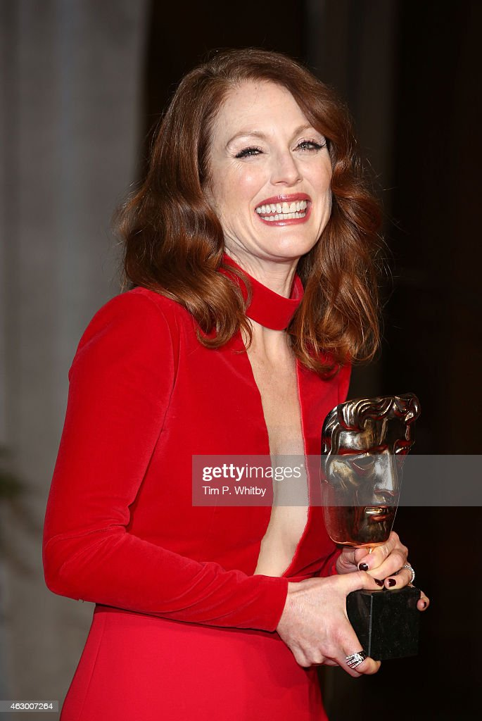Julianne Moore attends the after party for the EE British Academy Film Awards at The Grosvenor House Hotel on February 8, 2015 in London, England.