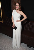 Julianne Moore attends The Cinema Society with Montblanc and Dom Perignon screening of Sony Pictures Classics' 'Still Alice' after party at White...