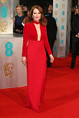 Julianne Moore attends the EE British Academy Film Awards at The Royal Opera House on February 8 2015 in London England
