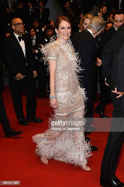 Julianne Moore attends the 'Maps To The Stars' premiere during the 67th Annual Cannes Film Festival on May 19 2014 in Cannes France