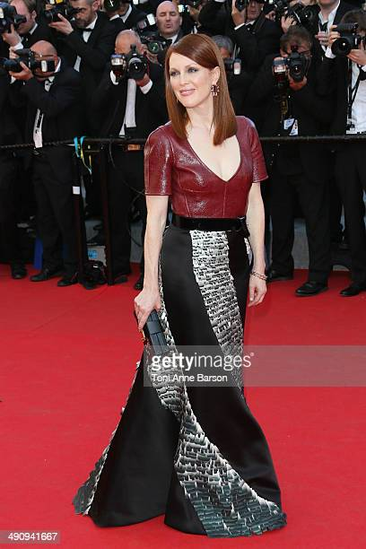 Julianne Moore attends the 'Mr Turner' Premiere at the 67th Annual Cannes Film Festival on May 15 2014 in Cannes France