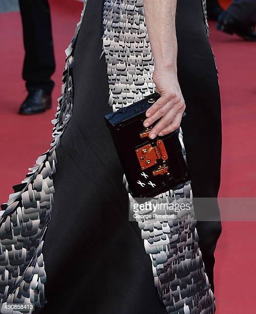 Julianne Moore attends the 'MrTurner' Premiere at the 67th Annual Cannes Film Festival on May 15 2014 in Cannes Franceattends the 'MrTurner' Premiere...