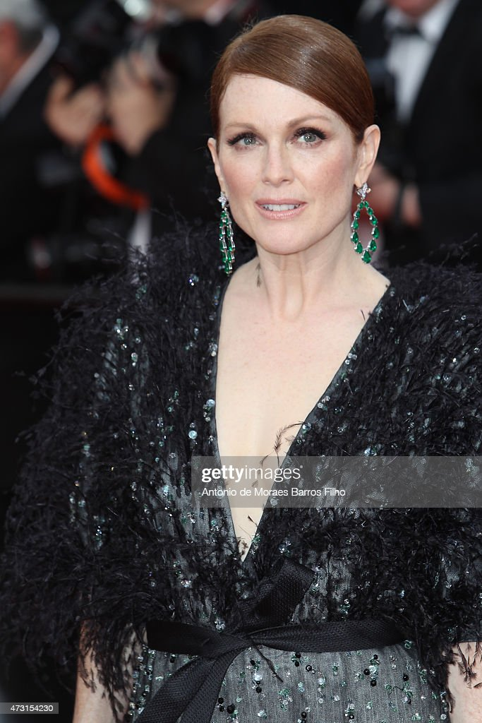 Julianne Moore attends the opening ceremony and 'La Tete Haute' ('Standing Tall') premiere during the 68th annual Cannes Film Festival on May 13, 2015 in Cannes, France.