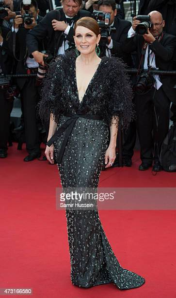 Julianne Moore attends the opening ceremony and premiere of 'La Tete Haute during the 68th annual Cannes Film Festival on May 13 2015 in Cannes France