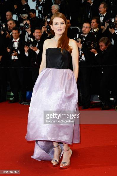 Julianne Moore attends the Opening Ceremony and 'The Great Gatsby' Premiere during the 66th Annual Cannes Film Festival at the Theatre Lumiere on May...