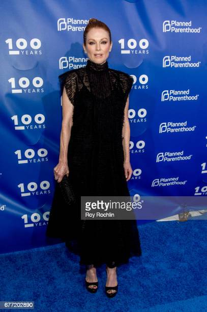Julianne Moore attends the Planned Parenthood 100th Anniversary Gala at Pier 36 on May 2 2017 in New York City