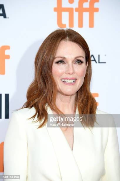 Julianne Moore attends the premiere of 'Suburbicon' during the 2017 Toronto International Film Festival at Princess of Wales on September 9 2017 in...