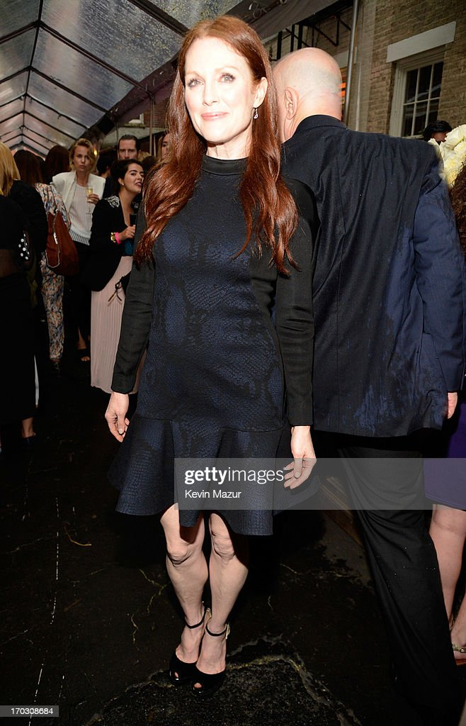 Julianne Moore attends the Stella McCartney Spring 2014 Collection Presentation at West 10th Street on June 10, 2013 in New York City.