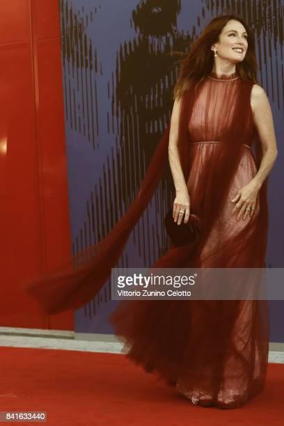 Julianne Moore attends the The 1st Franca Sozzani Award during the 74th Venice Film Festival at Sala Giardino on September 1 2017 in Venice Italy