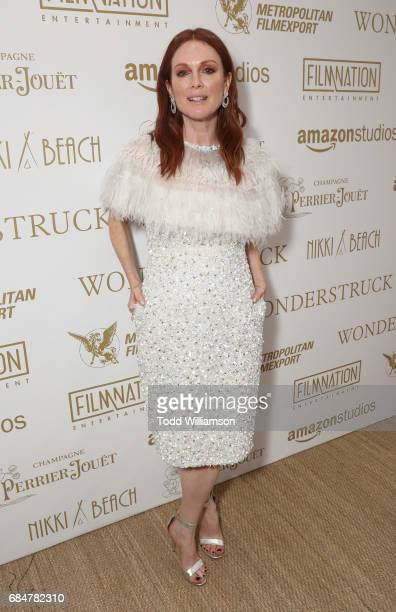 Julianne Moore attends the 'Wonderstruck' Cannes After Party on May 18 2017 in Cannes
