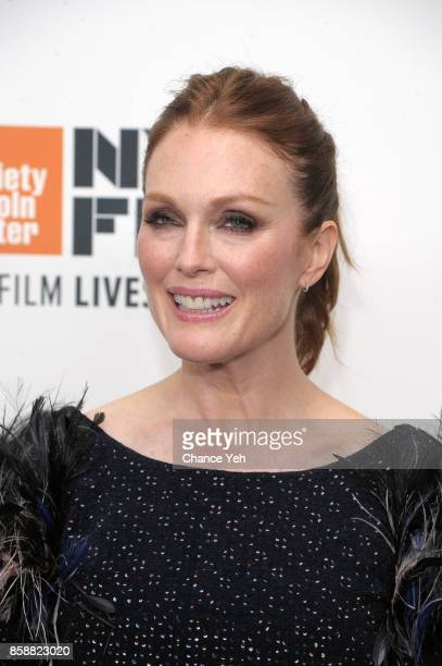 Julianne Moore attends 'Wonderstruck' screening during 55th New York Film Festival at Alice Tully Hall on October 7 2017 in New York City