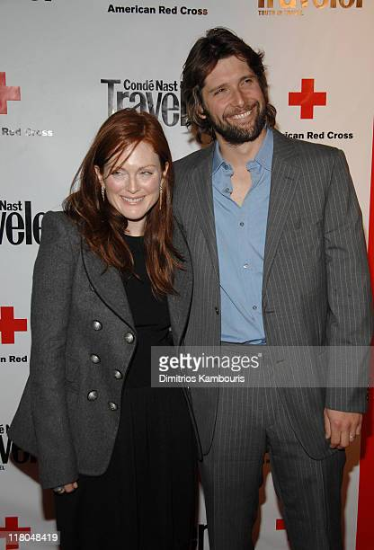 Julianne Moore during 2007 Conde Nast Traveler Hot List Party Arrivals in New York City New York United States