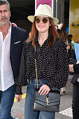 Celebrity Sightings At Nice Airport - The 71st Annual...