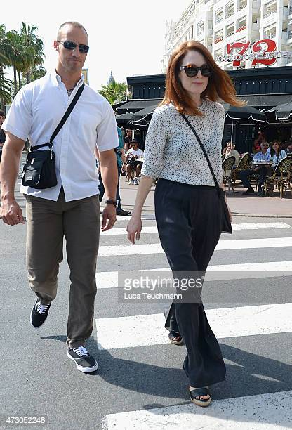 Julianne Moore is seen during the 68th annual Cannes Film Festival on May 12 2015 in Cannes France