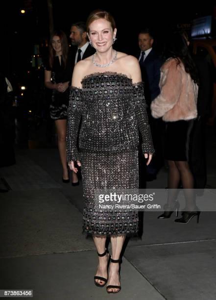 Julianne Moore is seen on November 13 2017 in New York City