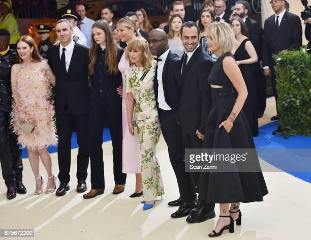 Julianne Moore Raf Simons Gwyneth Paltrow Barry Jenkins Tom Hamilton Paris Jackson arrive at 'Rei Kawakubo/Comme des Garcons Art Of The InBetween'...