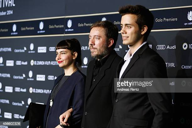 Juliano Ribeiro Salgado attends the 'The salt of the earth' Green Carpet Arrivals during Day 9 of Zurich Film Festival 2014 on October 3 2014 in...