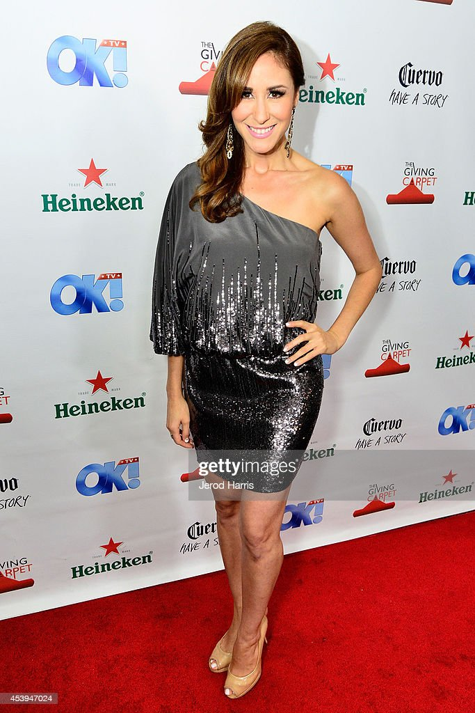 Julie Alexander attends OK! TV Awards Party at Sofitel Hotel on August 21, 2014 in Los Angeles, California.