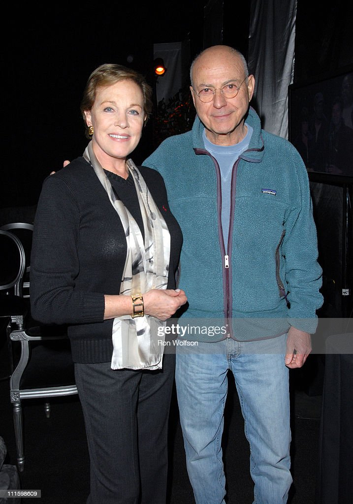 Julie Andrews Alan Arkin during 13th Annual Screen Actors Guild Awards Rehearsals at The Shrine Auditorium in Los Angeles California United States
