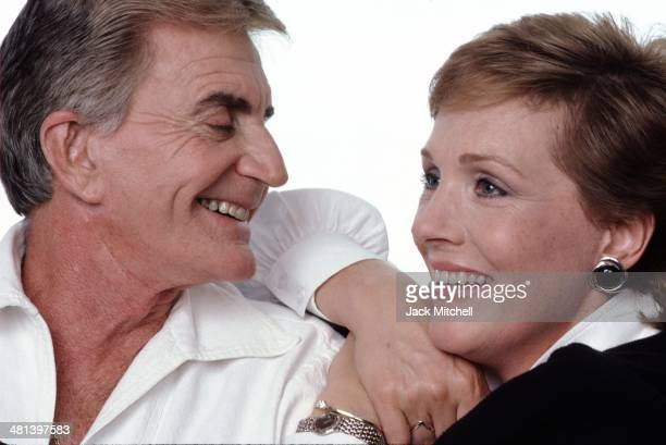 Julie Andrews and Blake Edwards