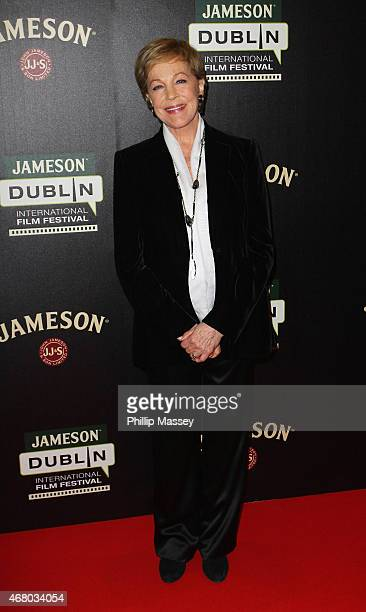 Julie Andrews attends the closing gala screening of 'The Sound of Music' in the Savoy cinema as part of the Jameson Dublin International Film...