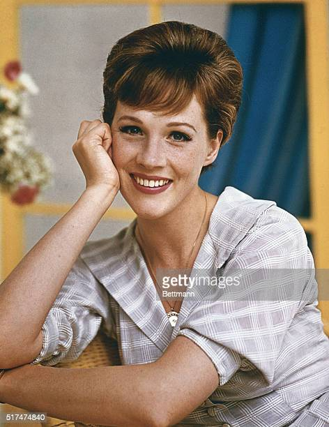 Julie Andrews Lovely English musical comedy star of Broadway's My Fair Lady and camelot makes her motion picture debut in the title role of Walt...