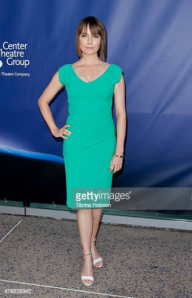 Julie Ann Emery attends 'Matilda The Musical' opening night at Ahmanson Theatre on June 7 2015 in Los Angeles California