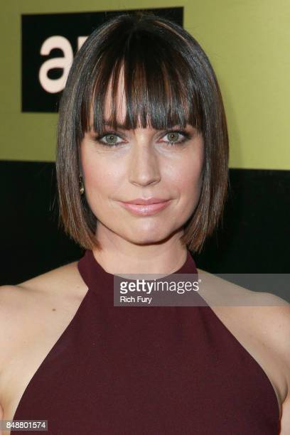 Julie Ann Emery attends the AMC Networks 69th Primetime Emmy Awards AfterParty Celebration at BOA Steakhouse on September 17 2017 in West Hollywood...