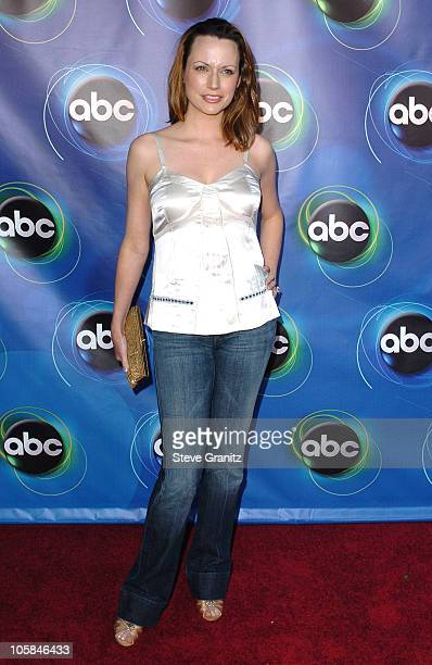 Julie Ann Emery during ABC 2005 Summer Press Tour AllStar Party Arrivals at The Abby in West Hollywood California United States