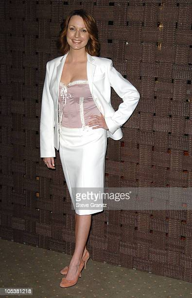 Julie Ann Emery during InStyle Magazine and the DIC Host Luncheon to Celebrate 2005 Awards Season at Beverly Hills Hotel in Beverly Hills California...