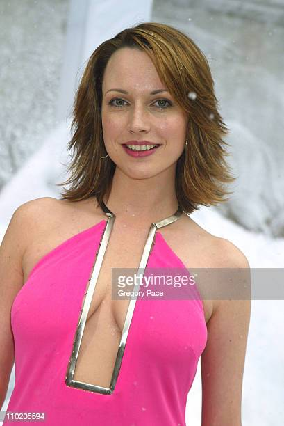 Julie Ann Emery during 'The Day After Tomorrow' New York Premiere Arrivals at American Museum of Natural History in New York City New York United...