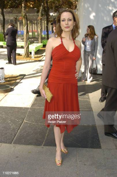 Julie Ann Emery of 'Commander in Chief' during 2005/2006 ABC UpFront at Lincoln Center in New York City New York United States
