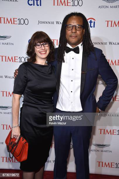 Julie Barer and Colson Whitehead attend 2017 Time 100 Gala at Jazz at Lincoln Center on April 25 2017 in New York City
