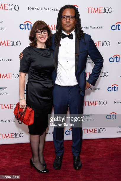 Julie Barer and Colson Whitehead attend 2017 Time 100 Gala at Frederick P Rose Hall Jazz at Lincoln Center on April 25 2017 in New York City