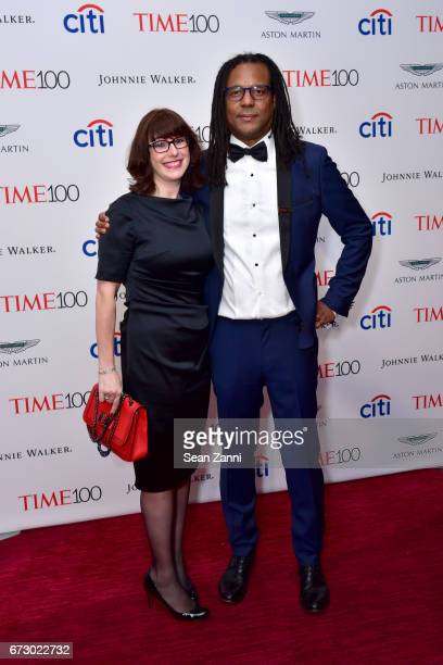 Julie Barer and Colson Whitehead attend the 2017 TIME 100 Gala at Jazz at Lincoln Center on April 25 2017 in New York City