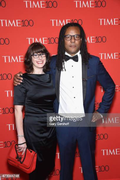 Julie Barer and novelist Colson Whitehead attend the Time 100 Gala at Frederick P Rose Hall Jazz at Lincoln Center on April 25 2017 in New York City