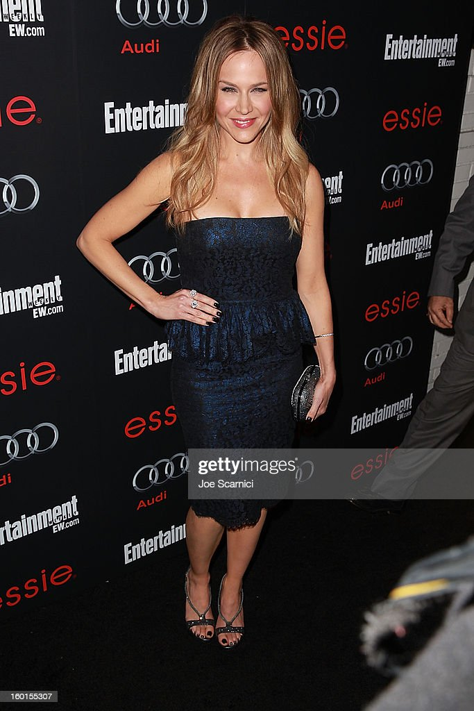 Julie Benz arrives at Entertainment Weekly Screen Actors Guild Awards Pre-Party at Chateau Marmont on January 26, 2013 in Los Angeles, California.