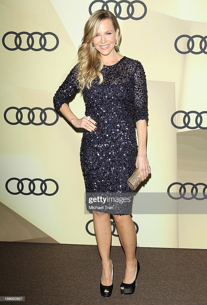 Julie Benz arrives at the Audi Golden Globe 2013 kick off cocktail party held at Cecconi's Restaurant on January 6, 2013 in Los Angeles, California.