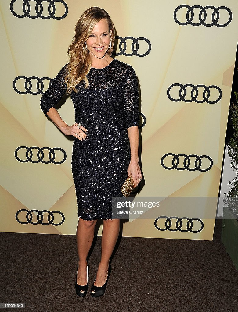Julie Benz arrives at the Audi Golden Globe 2013 Kick Off Cocktail Party at Cecconi's Restaurant on January 6, 2013 in Los Angeles, California.