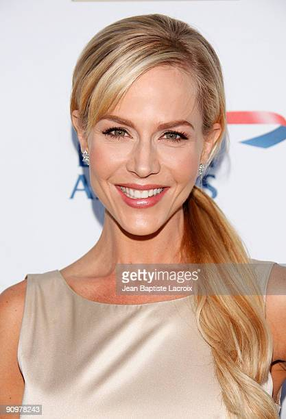 Julie Benz arrives at the BAFTA LA's 2009 Primetime Emmy Awards TV Tea Party at InterContinental Hotel on September 19 2009 in Century City California