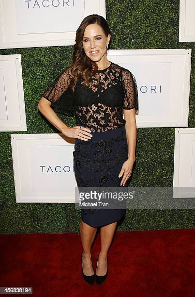 Julie Benz arrvies at the Club Tacori launches gentlemen's jewelry collection held at HYDE Sunset Kitchen Cocktails on October 7 2014 in West...